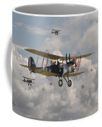 Ww1 Re8 Aircraft Coffee Mug by Pat Speirs