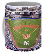 Yankee Stadium Coffee Mug by Allen Beatty