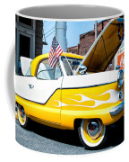 Yellow Flame Coffee Mug by Cindy Archbell