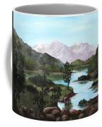Yosemite Meadow Coffee Mug by Anastasiya Malakhova