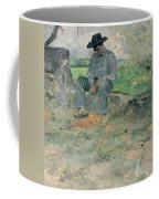 Young Routy At Celeyran Coffee Mug by Henri de Toulouse-Lautrec