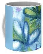 Zen Leaves Coffee Mug by Linda Woods
