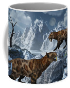 A Pair Of Sabre-toothed Tigers Coffee Mug by Mark Stevenson