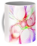 Abstract Of Circle  Coffee Mug by Setsiri Silapasuwanchai