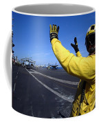 An Aviation Boatswains Mate Directs Coffee Mug by Stocktrek Images