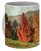Autumn Landscape Coffee Mug by Henri-Edmond Cross