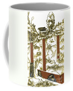 De Re Metallica, Mine Shafts, 16th Coffee Mug by Science Source
