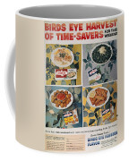 Frozen Food Ad, 1957 Coffee Mug by Granger