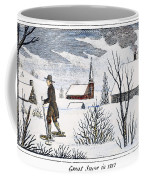 Great Snow Of 1717 Coffee Mug by Granger