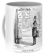 Grover Cleveland Cartoon Coffee Mug by Granger