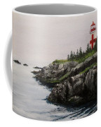 Head Harbour Lighthouse Coffee Mug by Jack Skinner