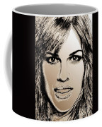 Hilary Swank In 2007 Coffee Mug by J McCombie