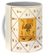 Horoscope Types, Engel, 1488 Coffee Mug by Science Source