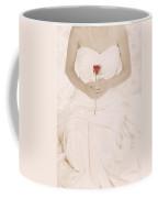 Lady With A Rose Coffee Mug by Joana Kruse
