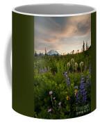 Lupine Sunset Coffee Mug by Mike  Dawson