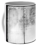 Madison: Account Book Coffee Mug by Granger