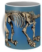Megatherium Extinct Ground Sloth Coffee Mug by Science Source