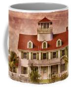 Peanut Island Coffee Mug by Debra and Dave Vanderlaan