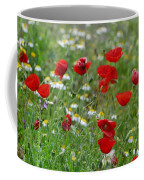 Poppies Coffee Mug by Guido Montanes Castillo
