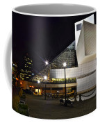 Rock And Roll Hall Of Fame Coffee Mug by Frozen in Time Fine Art Photography