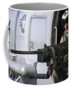 Soldier Mans A .50 Caliber Machine Gun Coffee Mug by Stocktrek Images