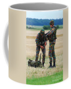 Soldiers Of The Belgian Army Coffee Mug by Luc De Jaeger