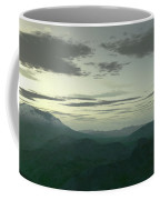 Terragen Render Of Mt. St. Helens Coffee Mug by Rhys Taylor