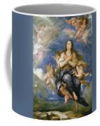 The Assumption Of Mary Magdalene Coffee Mug by Jose Antolinez
