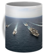 The Enterprise Carrier Strike Group Coffee Mug by Stocktrek Images