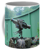 The Milan, Guided Anti-tank Missile Coffee Mug by Luc De Jaeger