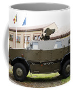The Multi-purpose Protected Vehicle Coffee Mug by Luc De Jaeger