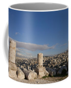 The Ruins Of The Ancient Citadel, Or Coffee Mug by Taylor S. Kennedy