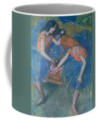 Two Dancers Coffee Mug by Edgar Degas