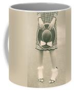 Black And White Coffee Mug by Joana Kruse