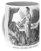 Death Of Lincoln, 1865 Coffee Mug by Granger