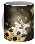 Dice Coffee Mug by Joana Kruse