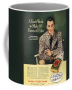 Lucky Strike Cigarette Ad Coffee Mug by Granger