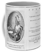 Phillis Wheatley, African-american Poet Coffee Mug by Photo Researchers