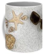 Seastar And Shells Coffee Mug by Joana Kruse
