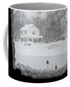 Snow Covers The Streets Coffee Mug by Stacy Gold