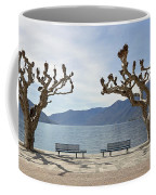 sycamore trees in Ascona - Ticino Coffee Mug by Joana Kruse