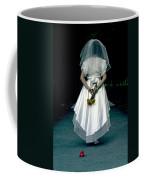 The Bride Coffee Mug by Joana Kruse