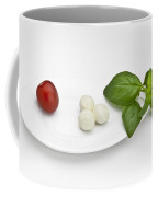 Tomato Mozzarella Coffee Mug by Joana Kruse