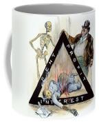 Triangle Factory Fire Coffee Mug by Granger