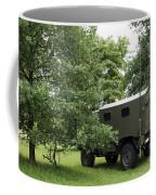 Unimog Truck Of The Belgian Army Coffee Mug by Luc De Jaeger