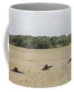 Belgian Paratroopers On Guard Coffee Mug by Luc De Jaeger