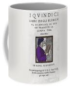 Euclid, Ancient Greek Mathematician Coffee Mug by Science Source