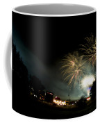 Fireworks Coffee Mug by Angel  Tarantella