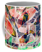 Abstract Composition Coffee Mug by Michal Boubin