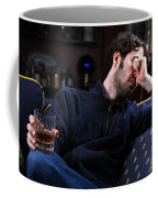 Depression And Addiction Coffee Mug by Photo Researchers, Inc.